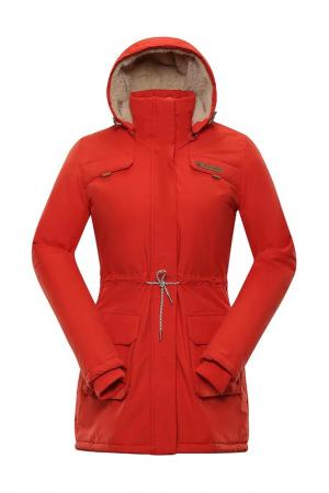 Coat ALPINE PRO. Цвет: red