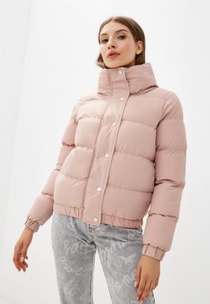 Куртка утепленная Brave Soul. Цвет: розовый