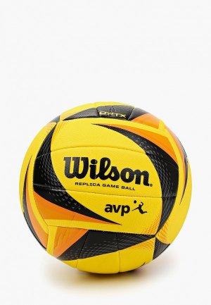 Мяч волейбольный Wilson. Цвет: желтый