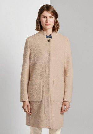 Пальто Tom Tailor. Цвет: бежевый
