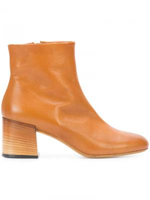 Ботинки по щиколотку Alberto Fermani. Цвет: коричневый