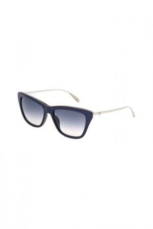 Солнцезащитные очки CAROLINA HERRERA NEW YORK. Цвет: синий