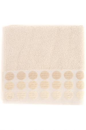 Полотенце махровое, 50х90 см BRIELLE. Цвет: бежевый