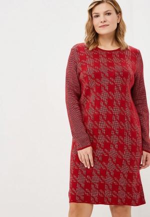 Платье Milana Style. Цвет: красный