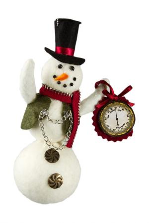 Снеговик CREATIVE. Цвет: белый