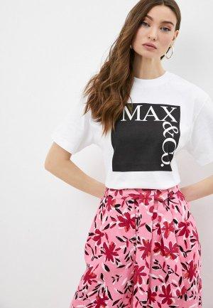 Футболка Max&Co. Цвет: белый