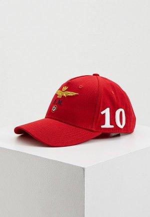 Бейсболка Aeronautica Militare. Цвет: красный