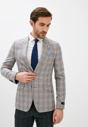 Пиджак Burton Menswear London. Цвет: бежевый