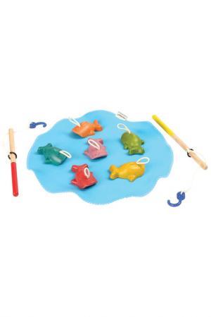 Рыбалка Plan Toys. Цвет: белый