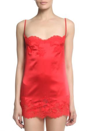 Сорочка Cotton Club. Цвет: красный