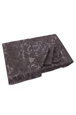 Комплект: скатерть, салфетки DAILY BY T. Цвет: коричневый