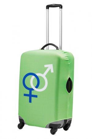 Чехол для чемодана Signature. Цвет: зеленый