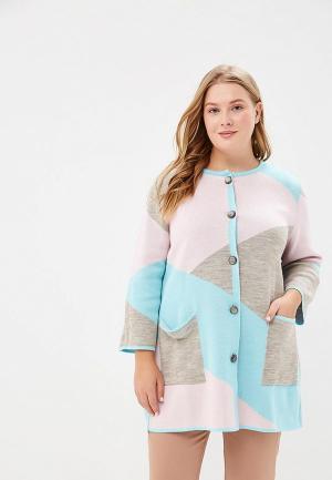 Кардиган Milana Style. Цвет: разноцветный