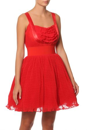 Платье Manoush. Цвет: красный