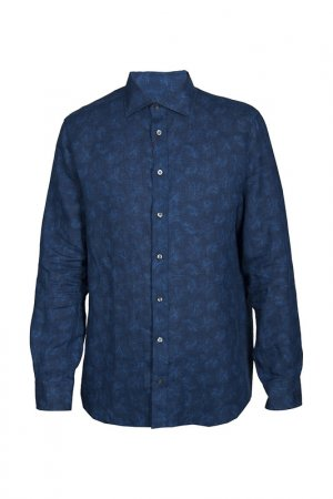 Рубашка LUCIANO BARBERA. Цвет: мультицвет