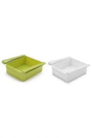 Комплект контейнеров HOMSU. Цвет: зеленый