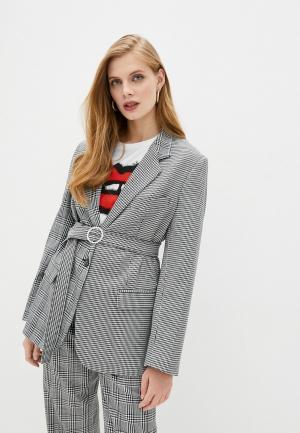 Пиджак Forte Dei Marmi Couture. Цвет: серый