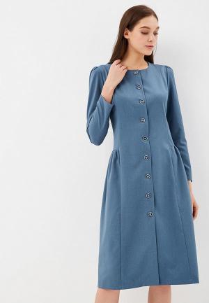 Платье Gregory. Цвет: синий