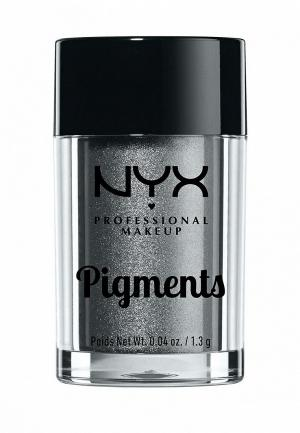 Тени для век Nyx Professional Makeup. Цвет: серый