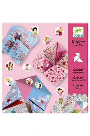 Оригами с фантами Djeco. Цвет: бордовый
