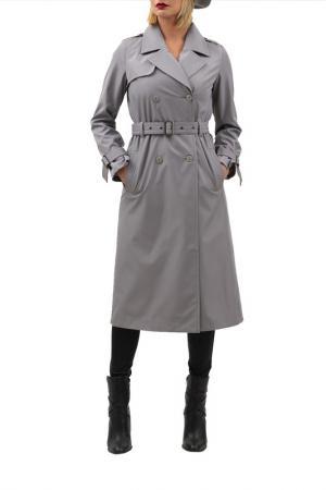 Тренч DOCTOR E. Цвет: серый