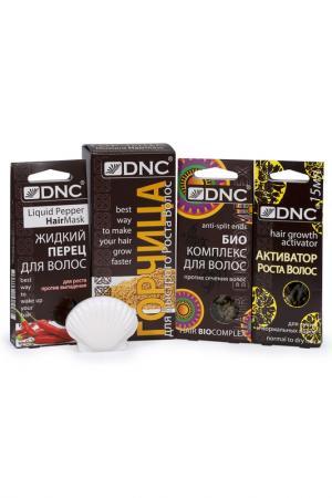 Набор для волос DNC. Цвет: бежевый