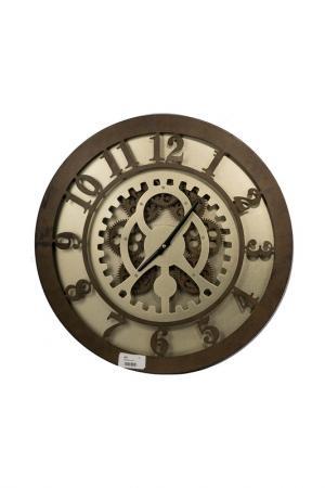 Часы 50x6x50 см ГЛАСАР. Цвет: коричневый