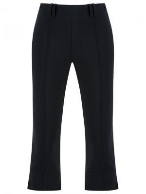Укороченные брюки Gloria Coelho. Цвет: чёрный