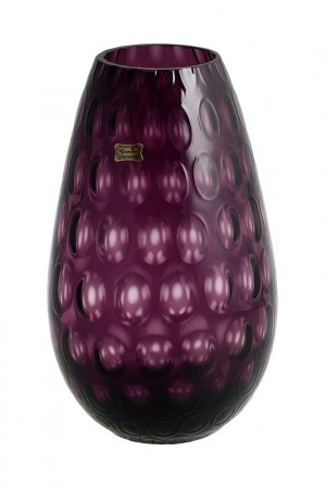 Ваза 30 см EGERMANN. Цвет: фиолетовый