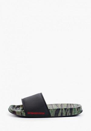 Сандалии DC Shoes. Цвет: черный
