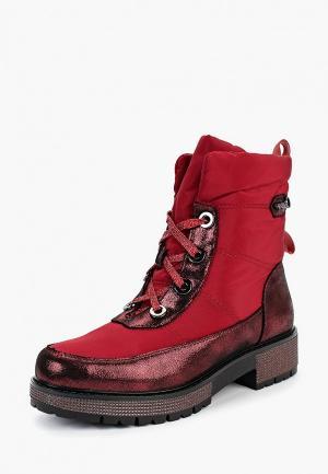 Ботинки King Boots. Цвет: красный