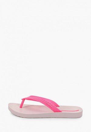 Сланцы Ipanema. Цвет: розовый