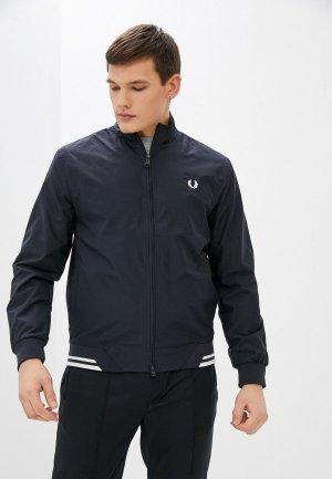 Куртка Fred Perry. Цвет: синий