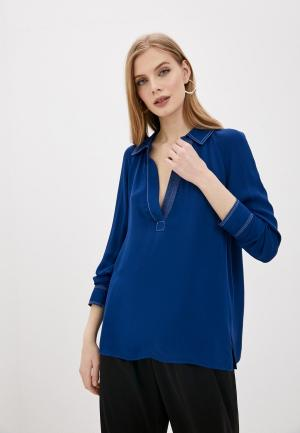 Блуза By Malene Birger. Цвет: синий