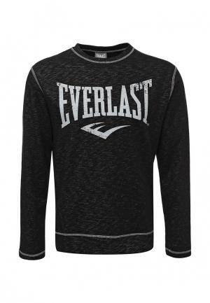 Свитшот Everlast. Цвет: черный
