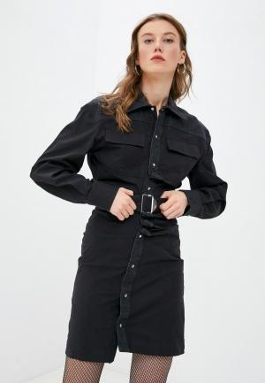 Платье Diesel. Цвет: черный