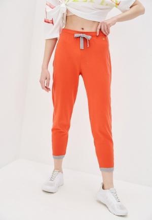 Брюки спортивные Deha. Цвет: оранжевый