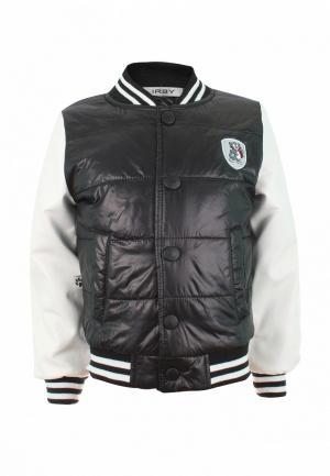 Куртка утепленная Irby Style. Цвет: черный