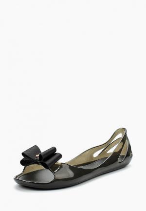 Балетки King Boots. Цвет: черный
