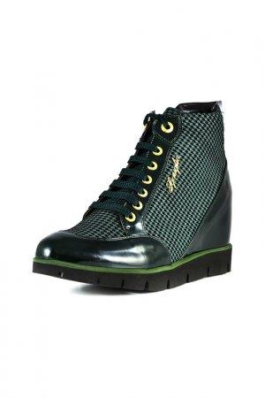 Ботинки LUIGI SGARIGLIA. Цвет: зеленый