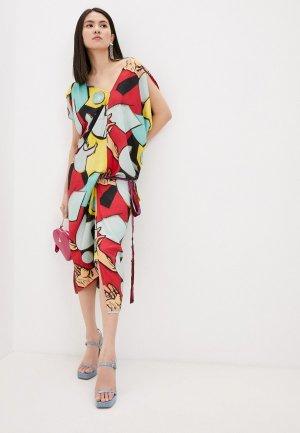 Платье Vivienne Westwood. Цвет: разноцветный