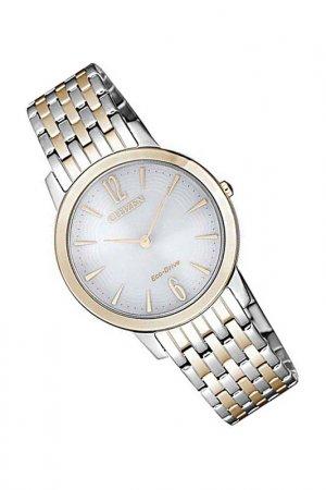 Наручные часы CITIZEN. Цвет: белый