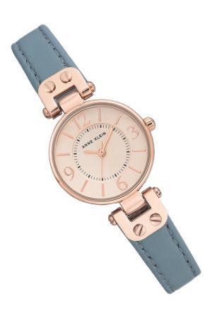 Часы ANNE KLEIN. Цвет: голубой