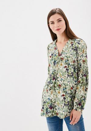 Блуза BuduMamoy. Цвет: зеленый