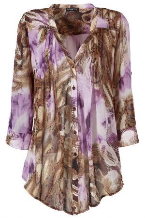 Блузка Apart. Цвет: фиолетовый