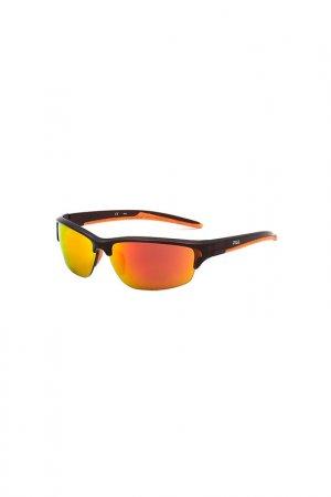 Очки солнцезащитные FILA. Цвет: оранжевый