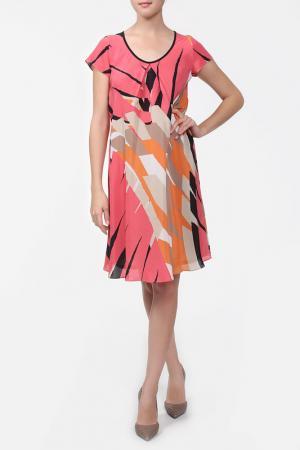 Платье Marella. Цвет: принт
