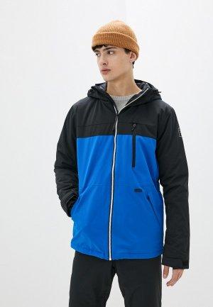 Куртка горнолыжная Billabong. Цвет: синий