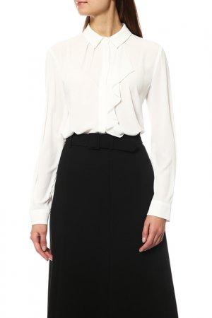 Блузка Disetta. Цвет: белый