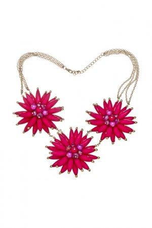 Ожерелье Victoria Le Land. Цвет: бордовый